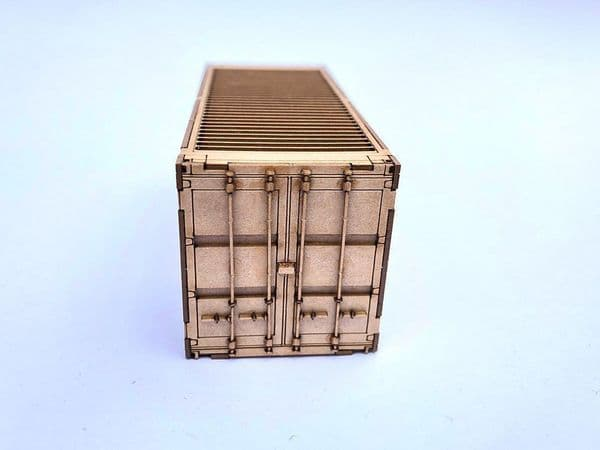 LX178-N M.O.D. 20ft Side Opening Shipping Container Kit (Pack of 1) N/2mm/1:1481